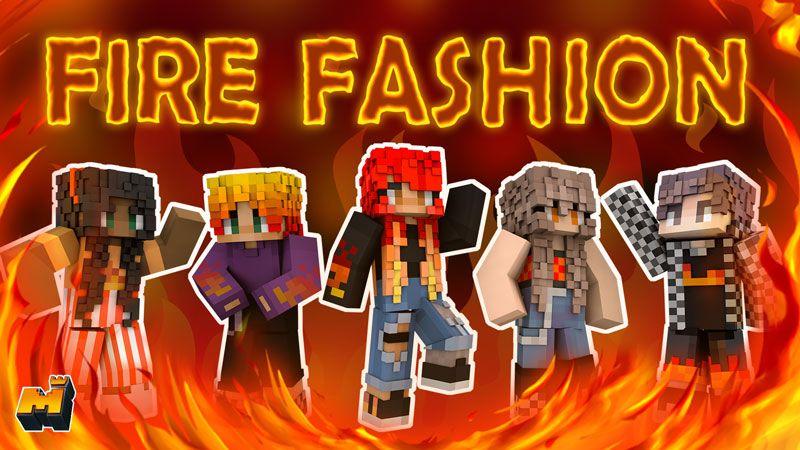 Fire Fashion on the Minecraft Marketplace by Mineplex