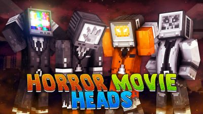 Horror Movie Heads on the Minecraft Marketplace by 57Digital