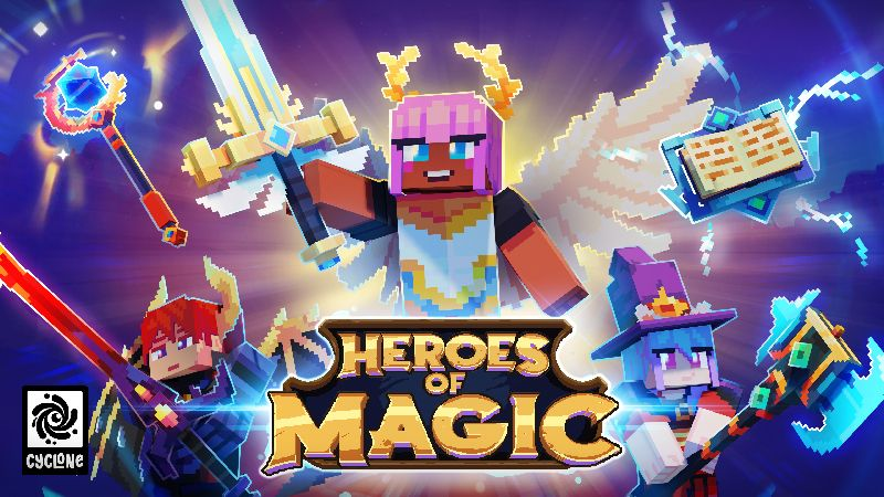 Heroes of Magic on the Minecraft Marketplace by Cyclone