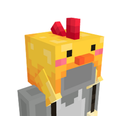 Chick Hat on the Minecraft Marketplace by BLOCKLAB Studios
