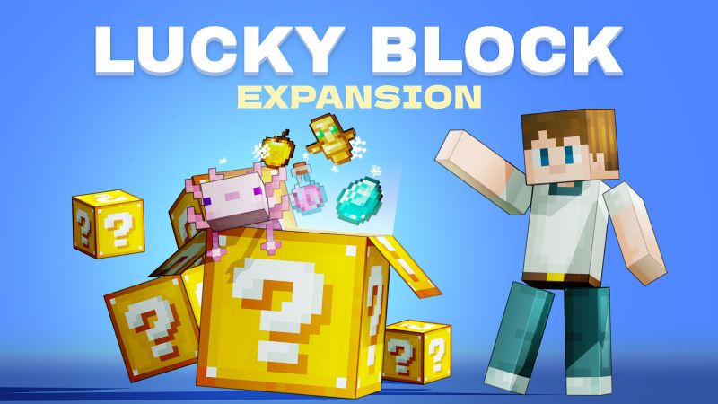 Lucky Block Expansion on the Minecraft Marketplace by BLOCKLAB Studios