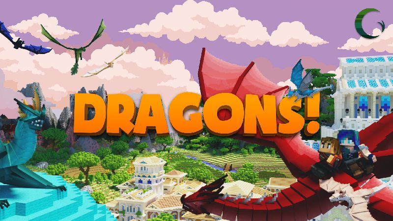 Dragons on the Minecraft Marketplace by Cynosia