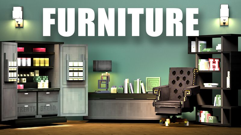 Furniture on the Minecraft Marketplace by 4KS Studios