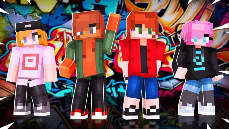 Street Moe Teens on the Minecraft Marketplace by Podcrash