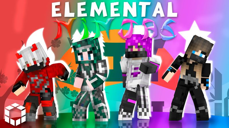 Elemental Ninjas on the Minecraft Marketplace by UnderBlocks Studios