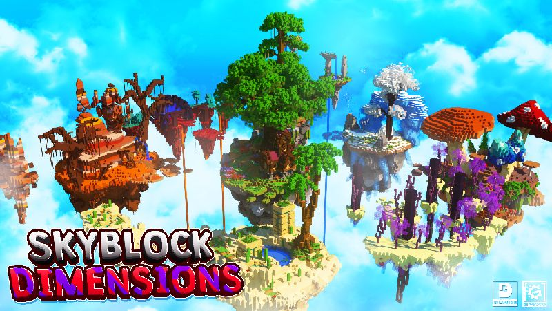 Skyblock Dimensions on the Minecraft Marketplace by Gearblocks