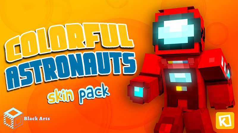 Colorful Astronauts on the Minecraft Marketplace by Black Arts Studios