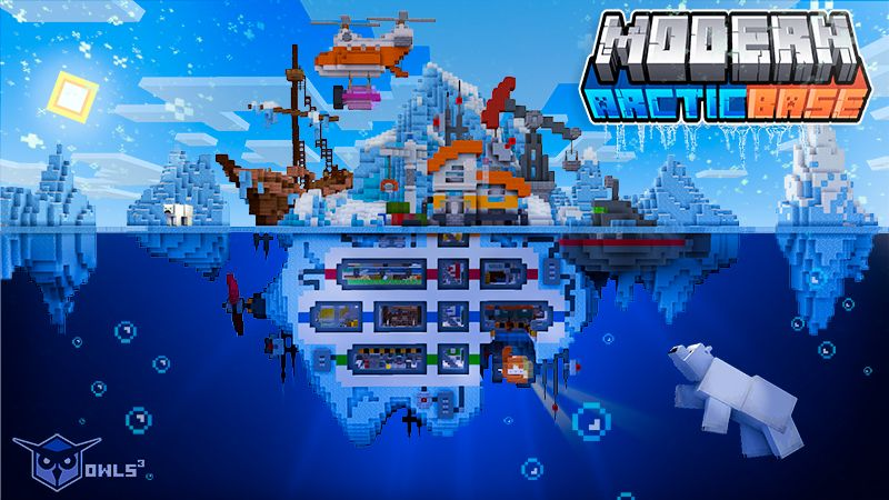 Modern Arctic Base on the Minecraft Marketplace by Owls Cubed