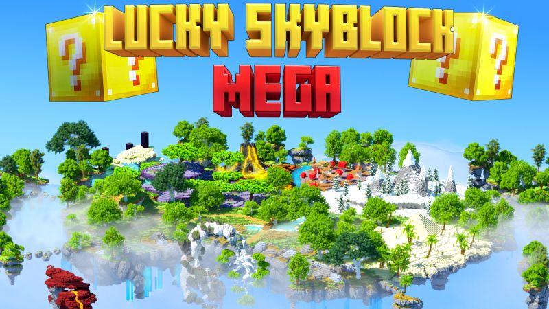 Lucky Skyblock Mega on the Minecraft Marketplace by Norvale