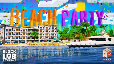 Beach Party on the Minecraft Marketplace by BLOCKLAB Studios