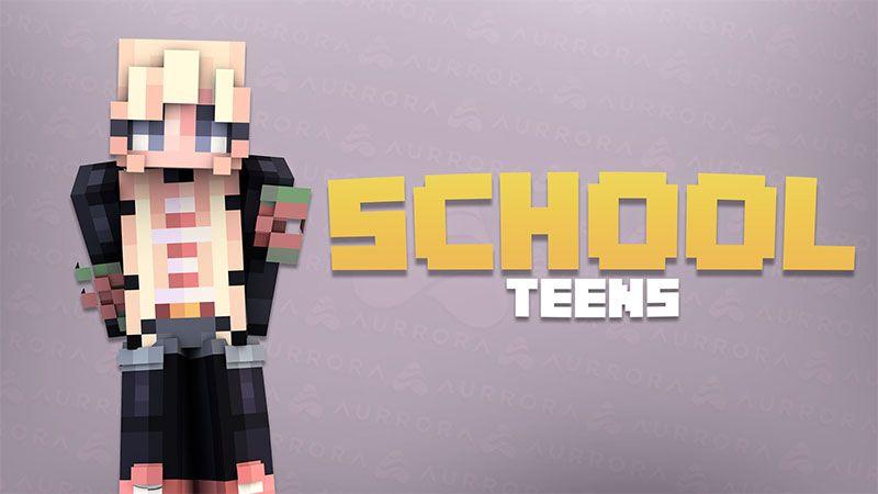 School Teens on the Minecraft Marketplace by Aurrora Skins