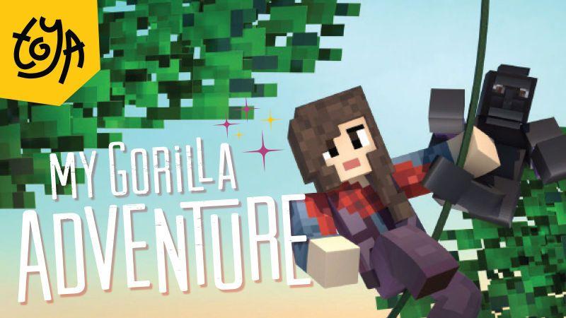 My Gorilla Adventure on the Minecraft Marketplace by Toya