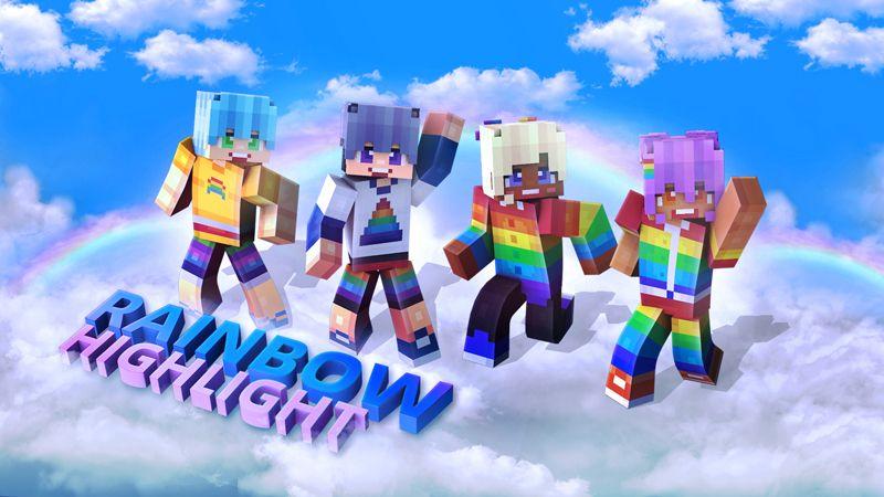 Rainbow Highlight on the Minecraft Marketplace by Dark Lab Creations
