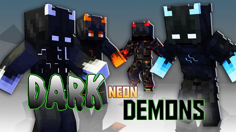 Dark Neon Demons on the Minecraft Marketplace by Blu Shutter Bug
