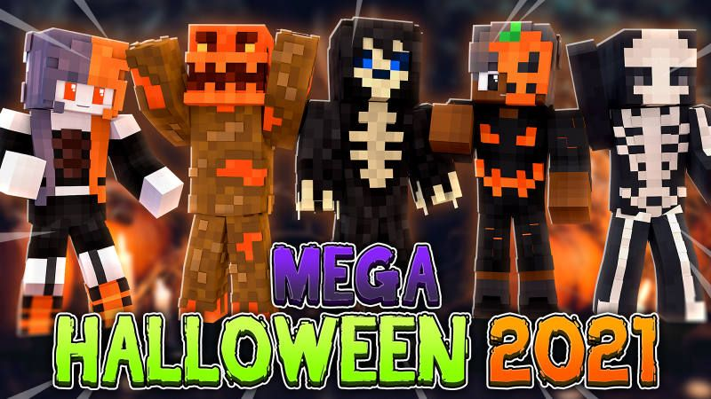 Mega Halloween 2021 on the Minecraft Marketplace by BLOCKLAB Studios