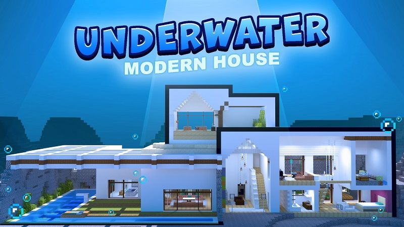 Underwater Modern House on the Minecraft Marketplace by BBB Studios