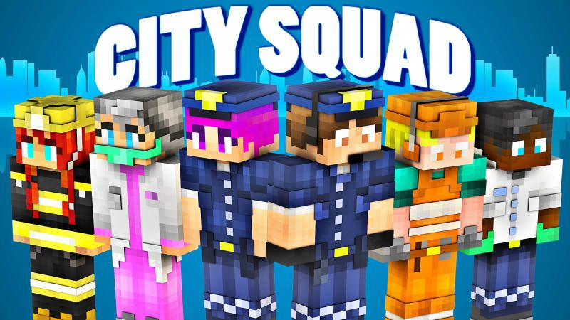 City Squad on the Minecraft Marketplace by BLOCKLAB Studios