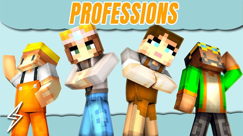Professions on the Minecraft Marketplace by Senior Studios