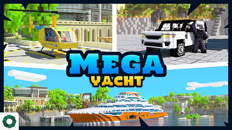 Mega Yacht on the Minecraft Marketplace by Octovon