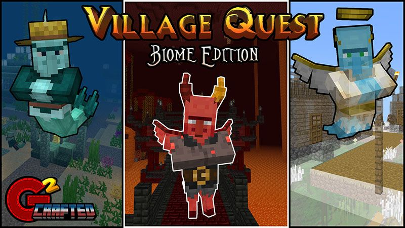 Village Quest Biome Edition on the Minecraft Marketplace by G2Crafted