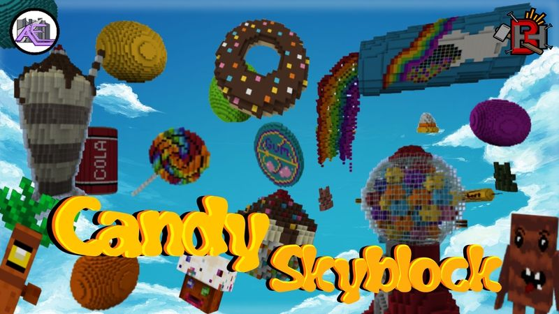 Candy Skyblock on the Minecraft Marketplace by Builders Horizon