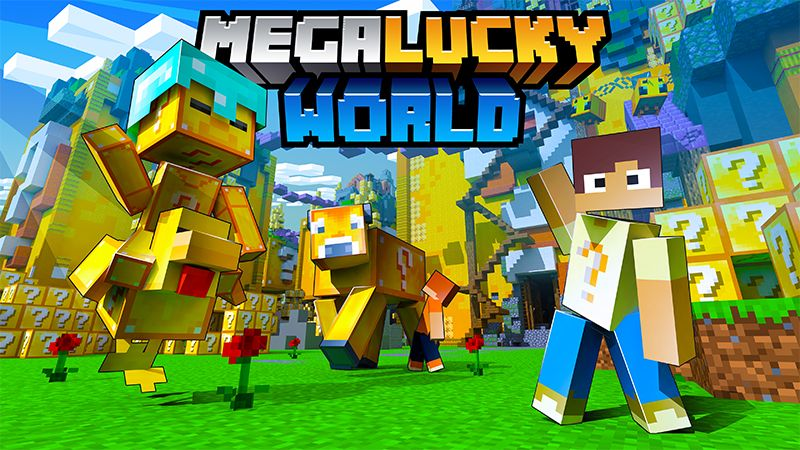 Mega Lucky World on the Minecraft Marketplace by Diluvian