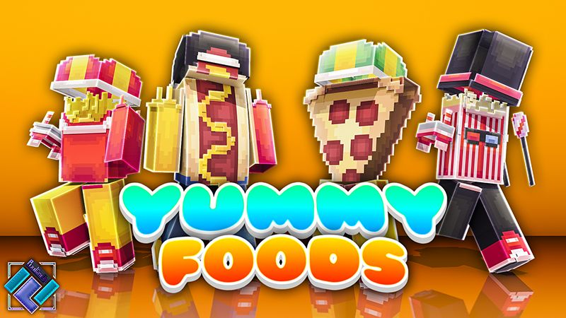 Yummy Foods on the Minecraft Marketplace by PixelOneUp