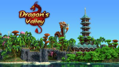 Dragons Valley on the Minecraft Marketplace by Impulse