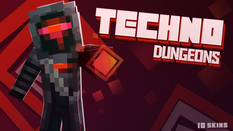 Techno Dungeons Skin Pack on the Minecraft Marketplace by Ninja Squirrel Gaming