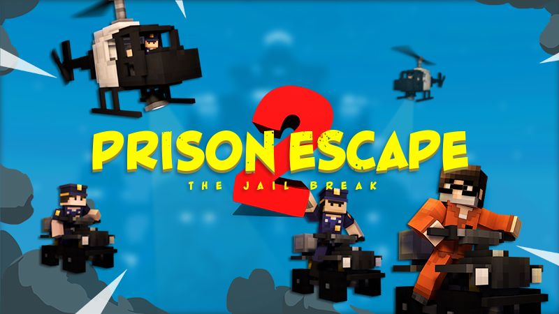 Prison Escape 2  Roleplay on the Minecraft Marketplace by InPvP