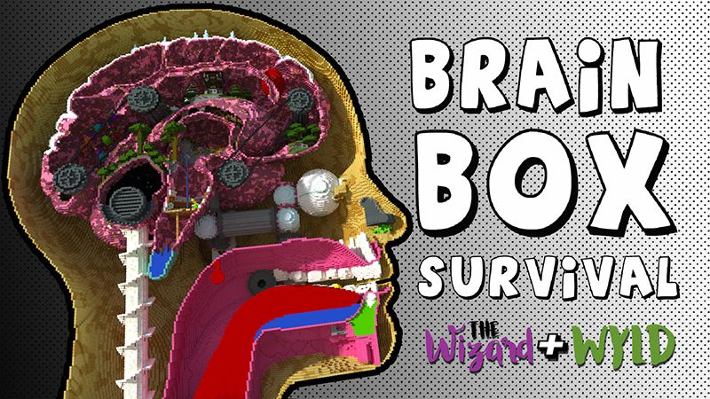 BrainBox on the Minecraft Marketplace by The Wizard and Wyld