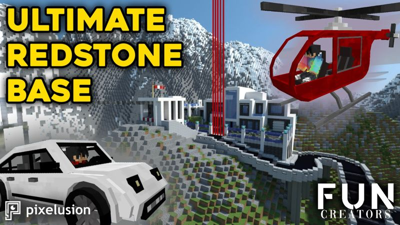 Ultimate Redstone Base on the Minecraft Marketplace by Pixelusion