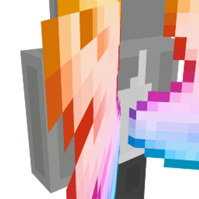 RGB Angel Wings on the Minecraft Marketplace by HorizonBlocks