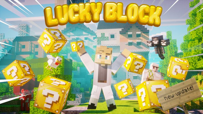 LUCKY BLOCK on the Minecraft Marketplace by Chunklabs