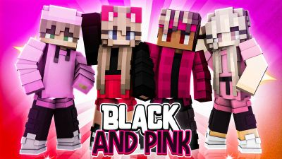 Black and Pink on the Minecraft Marketplace by BLOCKLAB Studios