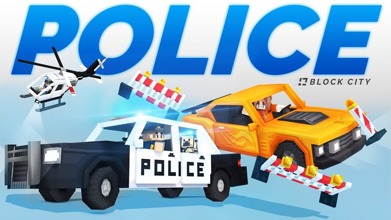 CITY Police  Roleplay on the Minecraft Marketplace by HorizonBlocks