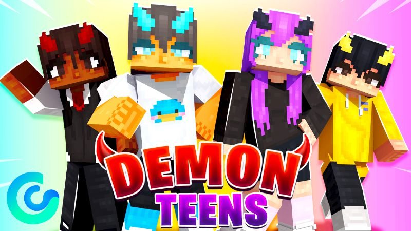 Demon Teens HD on the Minecraft Marketplace by Glorious Studios