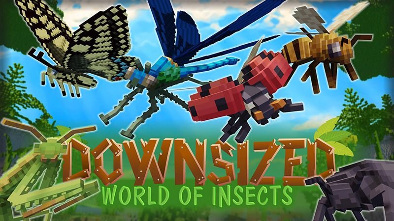 Downsized World of Insects on the Minecraft Marketplace by Odd Block