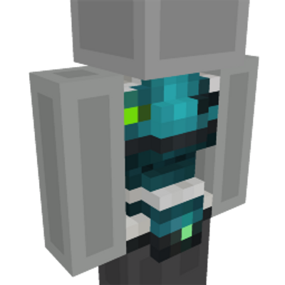 Robot Chest on the Minecraft Marketplace by Glowfischdesigns