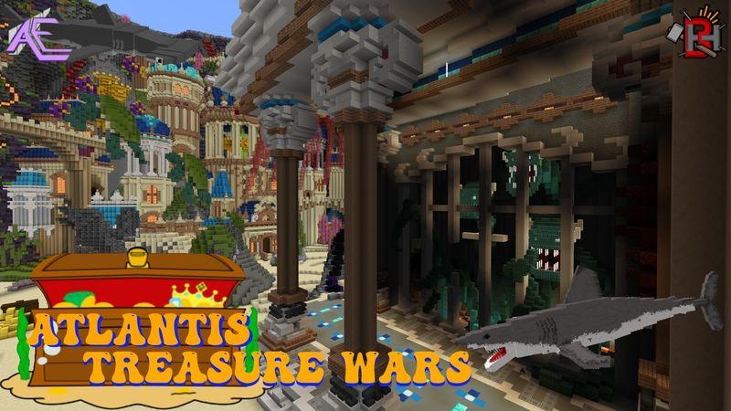 Atlantis Treasure Wars on the Minecraft Marketplace by Builders Horizon