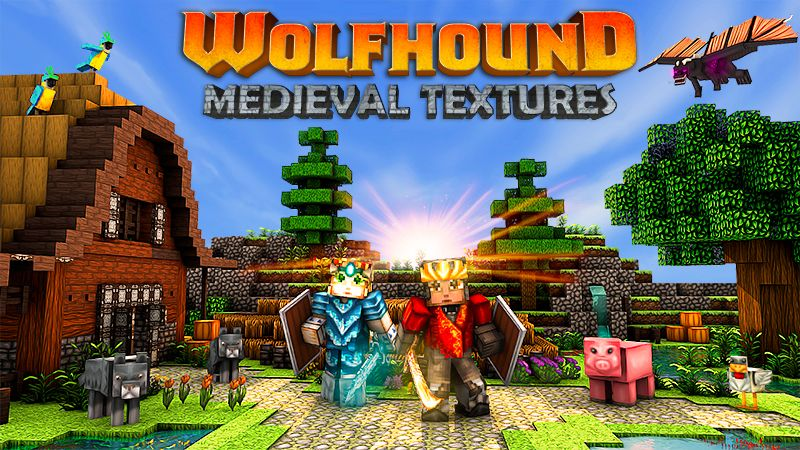 Wolfhound  Medieval Textures on the Minecraft Marketplace by GoE-Craft