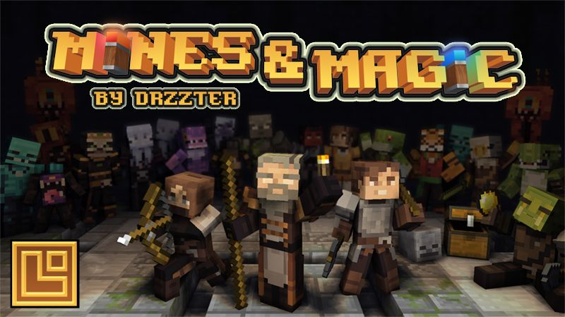 Mines  Magic on the Minecraft Marketplace by Pixel Squared