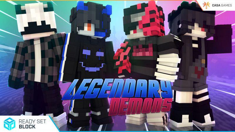 Legendary Demons on the Minecraft Marketplace by Ready, Set, Block!