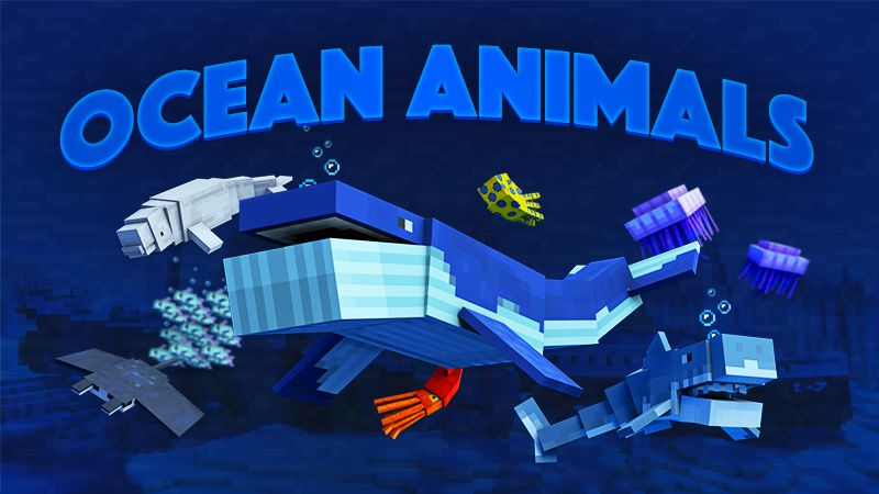 Ocean Animals on the Minecraft Marketplace by Team Vaeron