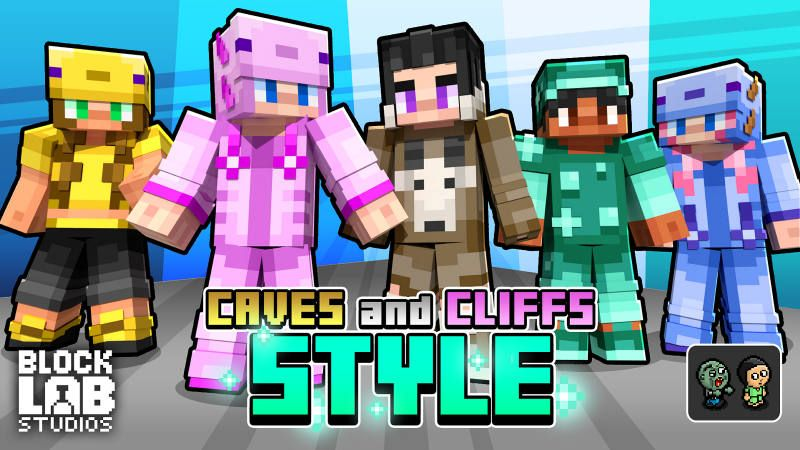 Caves and Cliffs Style