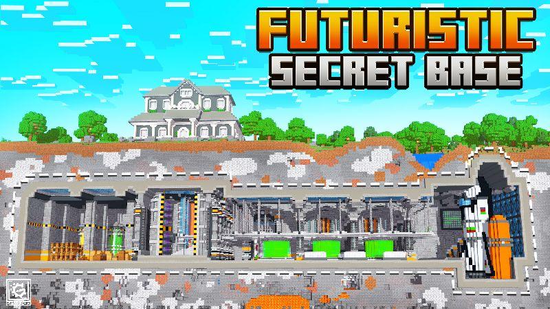 Futuristic Secret Base on the Minecraft Marketplace by Gearblocks