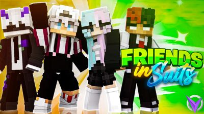 Friends in Suits on the Minecraft Marketplace by Team Visionary