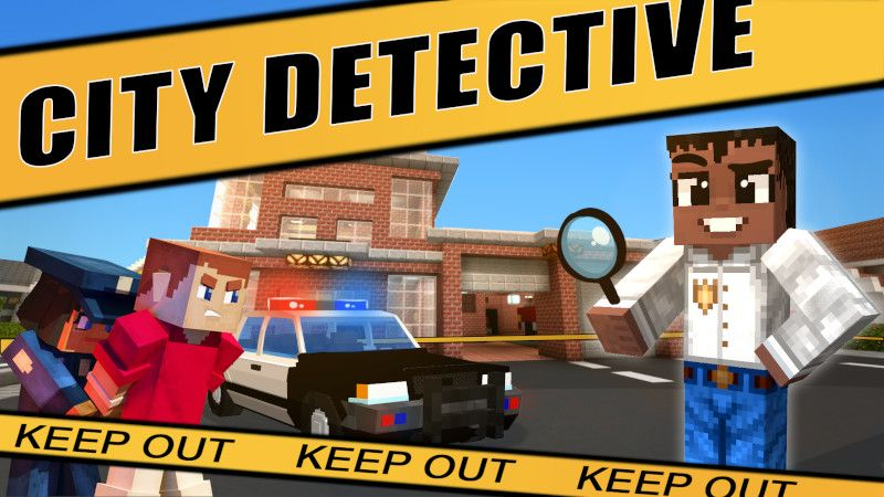City Detective on the Minecraft Marketplace by Lifeboat