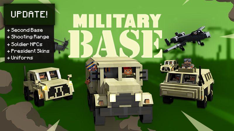 Military Base on the Minecraft Marketplace by Team Vaeron