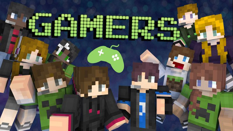Gamers Skin Pack on the Minecraft Marketplace by Polymaps
